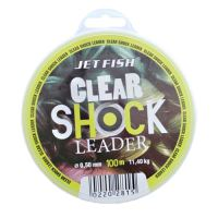 Jet Fish Clear Shock Leader Crystal 100 m-Průměr 0,45 mm / Nosnost 9,1 kg