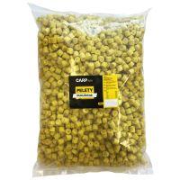 Carpway Pelety Kukuřičné Žluté S Dírou 18 mm 10 kg