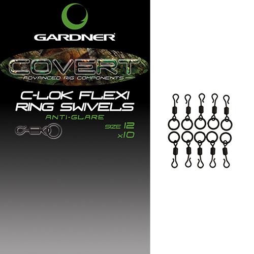 Gardner obratlíky c lok flexi ring swivels 10 ks velikost 12