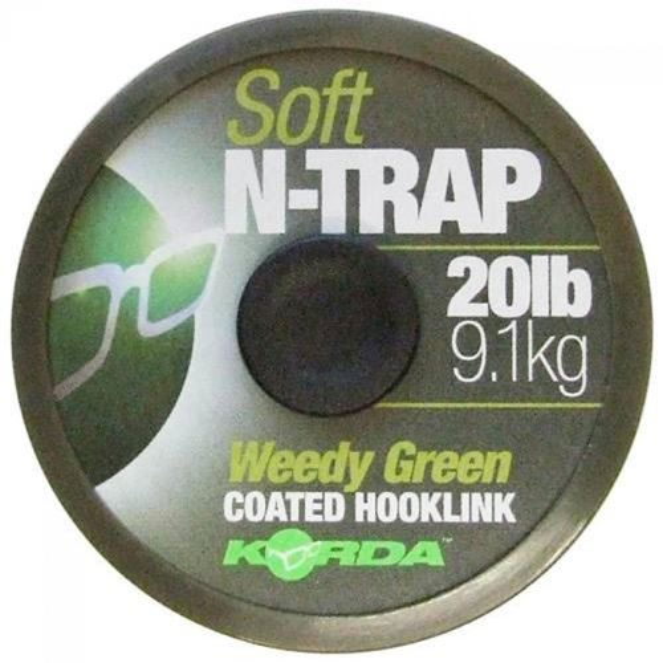 Korda Návazcová Šňůrka N-Trap Soft Green 20 m