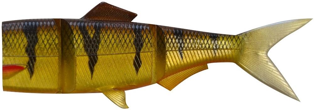 Daiwa náhradní tělo prorex hybrid spare tail perch-12,5 cm 30 g