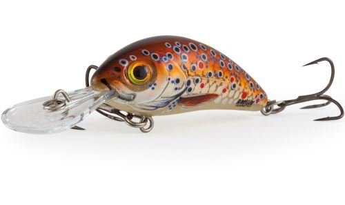 Salmo Wobler Rattlin Hornet Floating Holographic Brown Trout