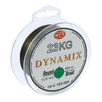 WFT Splétaná Šňůra Round Dynamix KG Zelená - 300 m 0,25 mm 23 kg