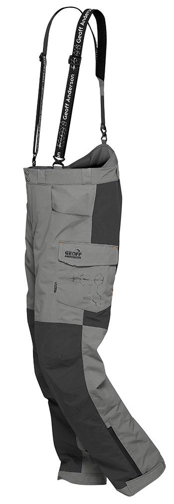 Geoff anderson kalhoty barbarus šedo černá-velikost xl