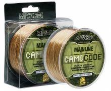 Mivardi Vlasec CamoCode Mainline Camo 600 m-Průměr 0,255 mm / Nosnost 6,55 kg