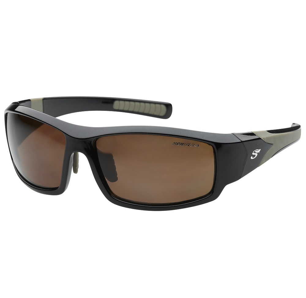 Scierra brýle wrap arround sunglasses brown lens