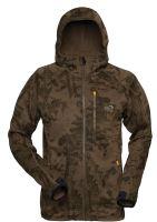 Geoff Anderson Bunda Z Mikro Fleece Hoody 3 Leaf-Velikost XXL
