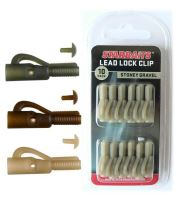 Starbaits Závěsky Lead Lock Clip 10 ks-Zelená