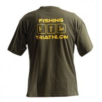 Doc Fishing Triko Triathlon Zelená - XXL