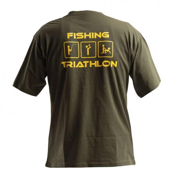 Doc Fishing Triko Triathlon Zelená