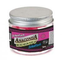 Anaconda micro neon pop-up bez příchutě 15 g 10 mm-Bílá