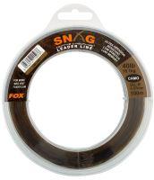 Fox Šokový Vlasec Snag Leaders Camo-Průměr 0,47 mm / Nosnost 13,6 kg / Návin 100 m