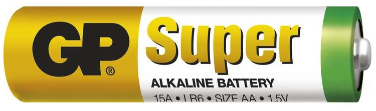 Gp batteries alkalická baterie gp super lr6 (aa) 1 ks