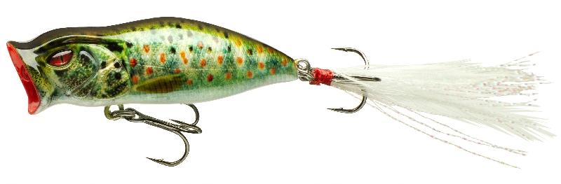 Daiwa wobler prorex mini popper live brown trout 5,5 cm 5,7 g