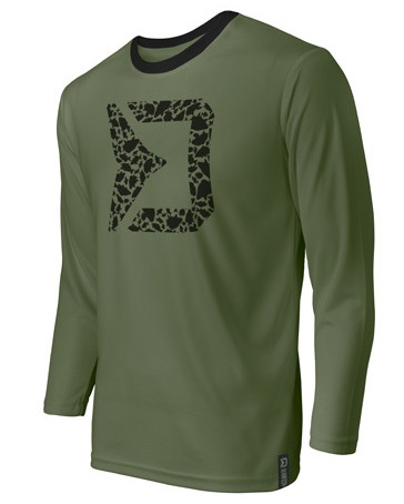 Delphin tričko s dlouhým rukávem rawer carpath - xxl-velikost - xxl