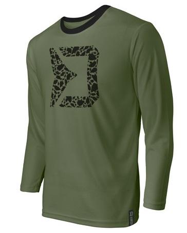 Delphin tričko s dlouhým rukávem rawer carpath - xxxl-velikost - xxxl