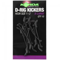 Korda Rovnátka Kickers D Rig Green 10 ks-Velikost S