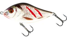 Salmo Wobler Slider Sinking Wounded Real Grey Shiner-10 cm 46 g