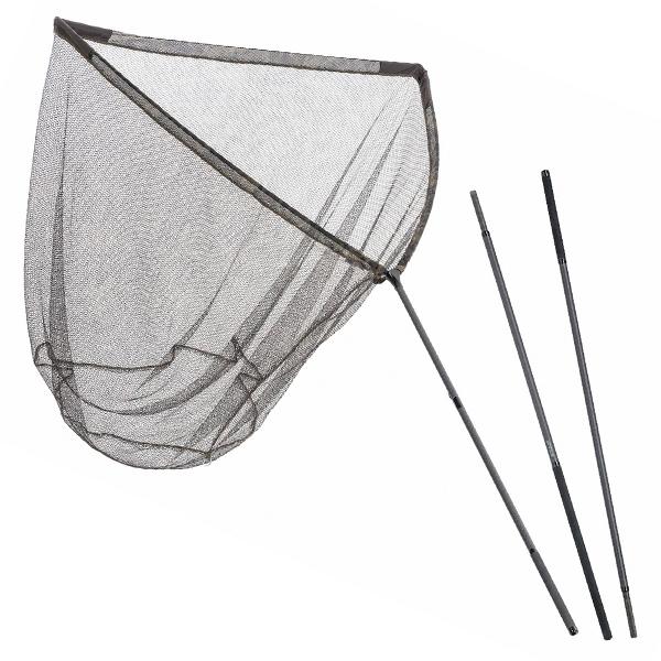 Mivardi podběrák camo code 100x100 cm + tyč