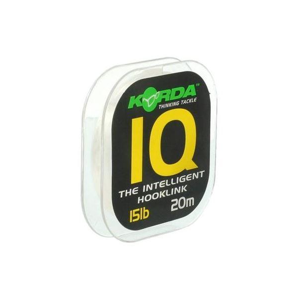 Korda Fluorocarbon  IQ The Intelligent Hooklink 20 m