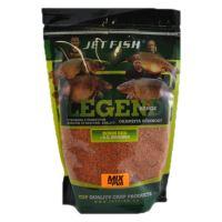 Jet Fish PVA mix 1 kg-žlutý impuls-ořech/javor