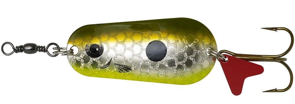 Dam třpytka effzett standard spoon uv olive silver - 4,5 cm 16 g