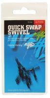 Giants Fishing Rychlo Obratlík Quick Swap Swivel 10 ks-Velikost 12