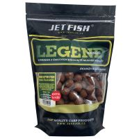 Jet Fish Extra Tvrdé Boilie Legend Range Bioenzym Fish 24 mm 250 g