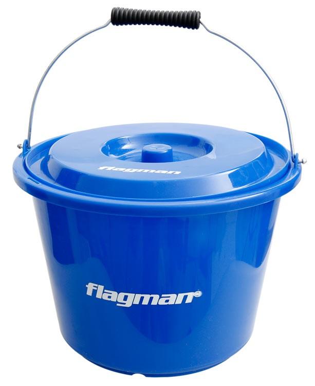 Flagman plastová míchačka s víkem 12 l