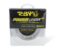 Black Cat návazcová šňůra sumcová Power Leader 20 m Sand-Průměr 1 mm / Nosnost 80 kg