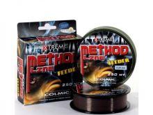 Colmic Vlasec Method Feeder Brown 250 m-Průměr 0,16 mm / Nosnost 3,2 kg