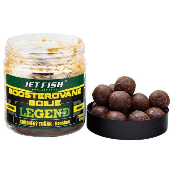 Jet Fish Boosterované Boilie Kořeněný Tuňák Broskev 250 ml
