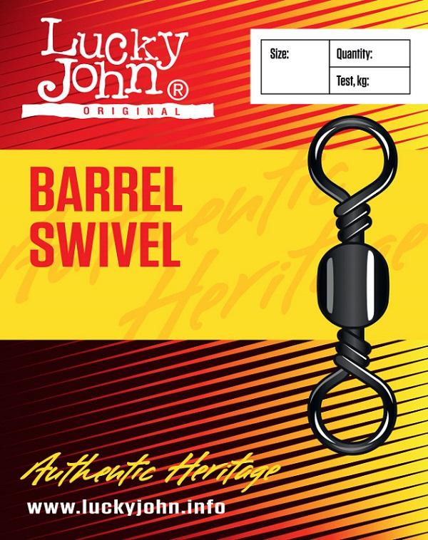 Lucky john obratlík barrel swivel-7 kg