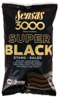 Sensas krmítková směs 3000 Dark Salty (Černé - slané) 1 kg-Etang
