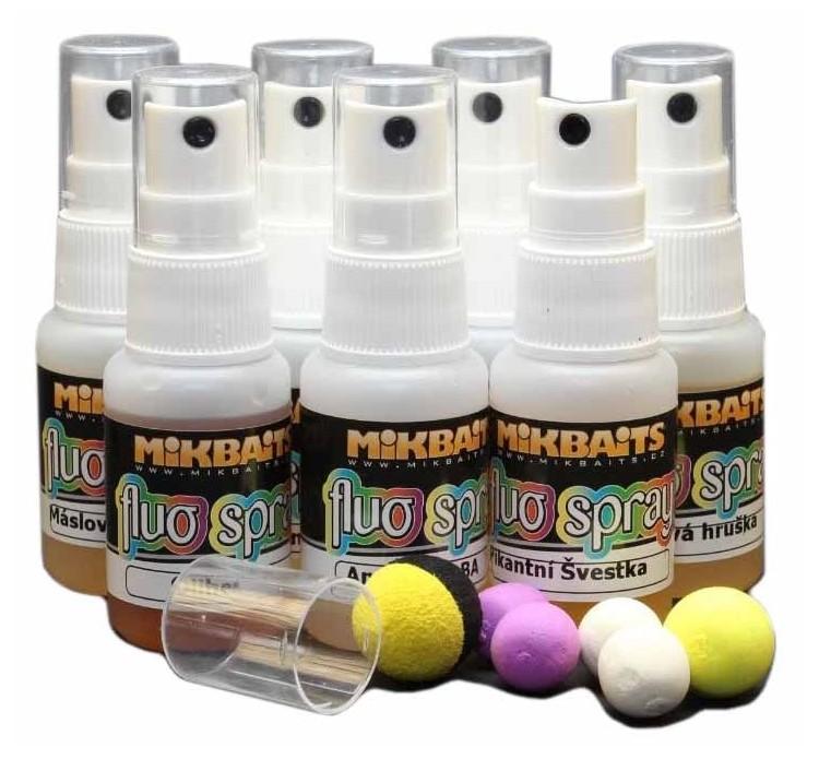Mikbaits fluo spray 30 ml-oliheň