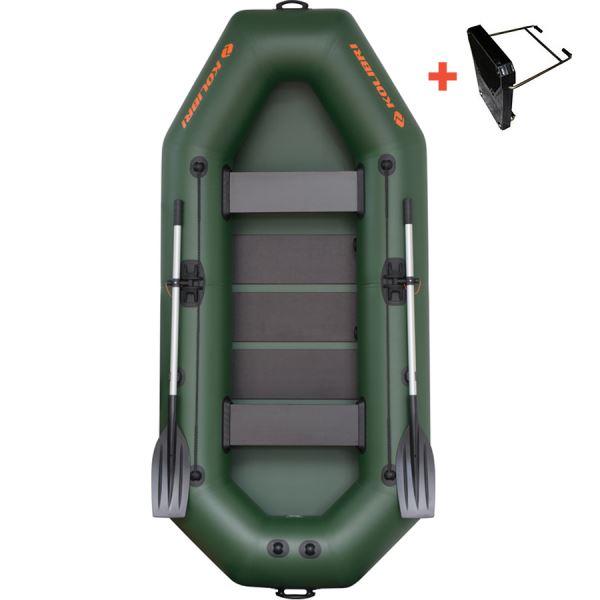 Kolibri Člun K-280 T Zelený Lamelová Podlaha + Držák