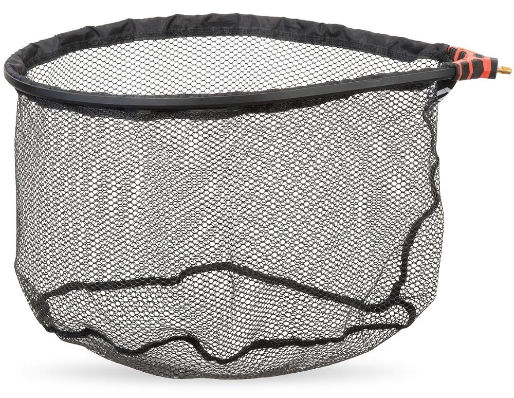 Saenger ms range podběráková hlava rubber de luxe-rozměr 45 x 35 cm