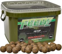 Starbaits Boilies Feedz 20 mm 4 kg-hemp
