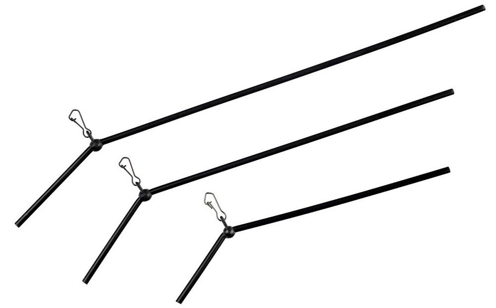 Levně Giants fishing průjezd na tyčce zahnutý anti tangle 3 ks-10 cm