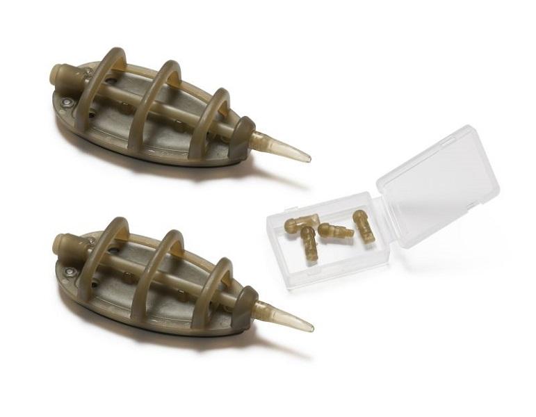 Extra carp method feeder with connector 2 ks-20 g