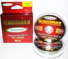 Venturieri - Fluorocarbon  Fluoromax 50 m crystal-Průměr 0,20 mm / Nosnost 4,60 kg