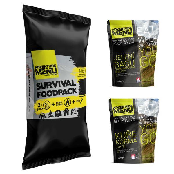 Adventure Menu Survival Food Pack Menu 4