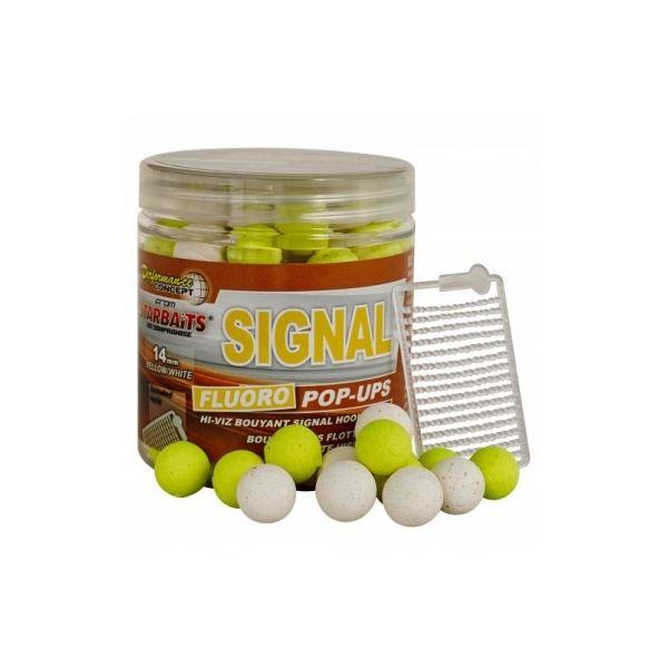 Starbaits Plovoucí Boilie Fluo Pop Up Signal