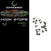 Gardner Zarážka Zvonová Covert Hook Stops Hnědé