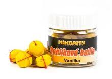 Mikbaits rohlíkové boilie 50ml-vanilka