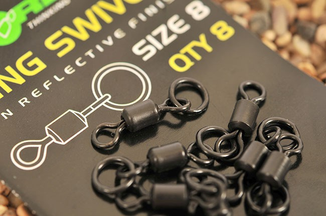 Korda obratlíky ring swivels ks-8
