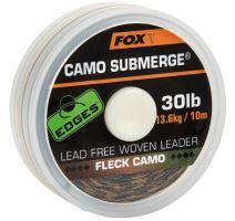 Fox Návazcová Šňůrka Edges Submerge Fleck Camo Leader 10 m-Průměr 50 lb / Nosnost 22,7 kg