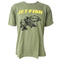 Jet Fish Triko Olivové -Velikost L