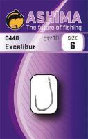Ashima  Háčky  C440 Excalibur  (10ks)-Velikost 6