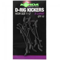 Korda Rovnátka Kickers D Rig Green 10 ks-Velikost XL